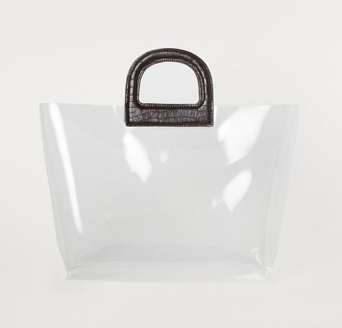 Torba plastikowy shopper H&M