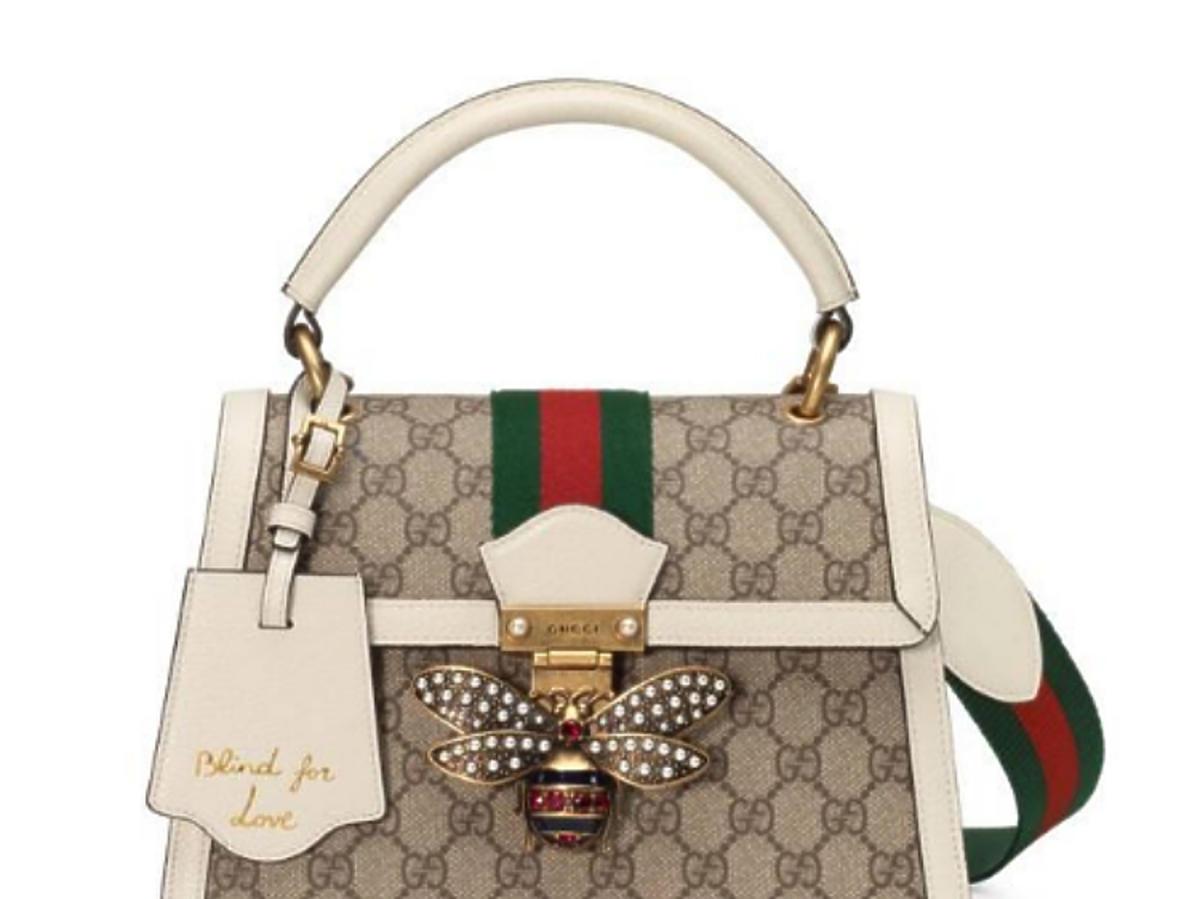 torebka Gucci-torebka kuferek Gucci queen margaret