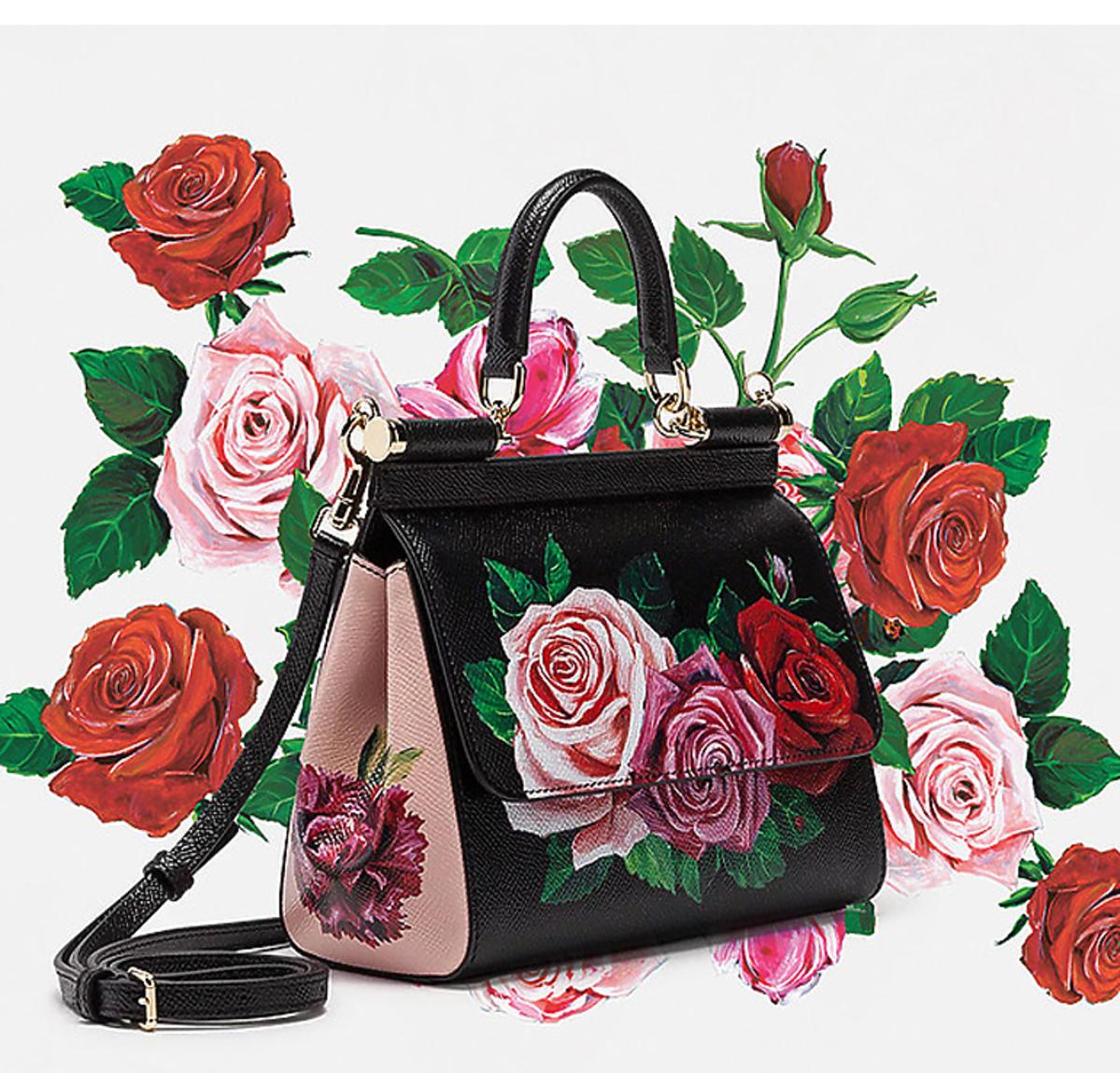 torebka nowa kolekcja Dolce&Gabbana wiosna lato 2019 Flovermix