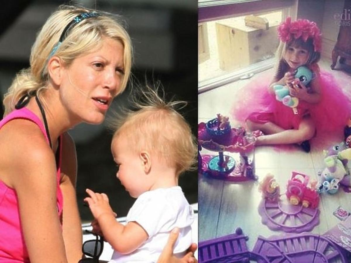 Tori Spelling wyprawiła córce ogromną imprezę urodzinową