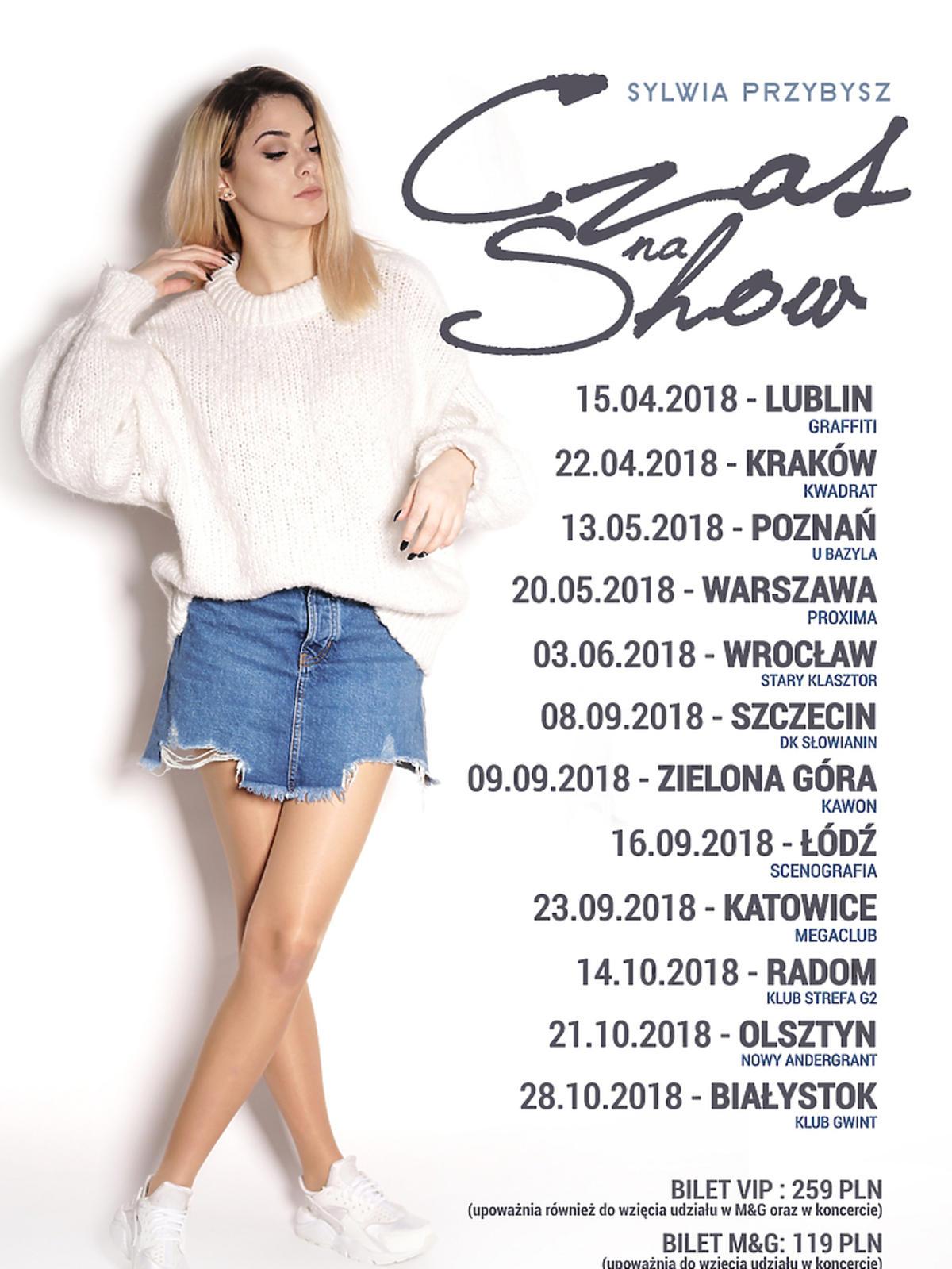 Trasa koncertowa Sylwii Przybysz