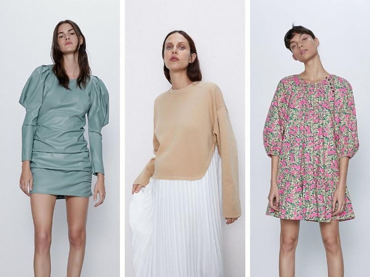 Trend sezonu 2020-najmodniejsze sukienki z Zary do 150 zł