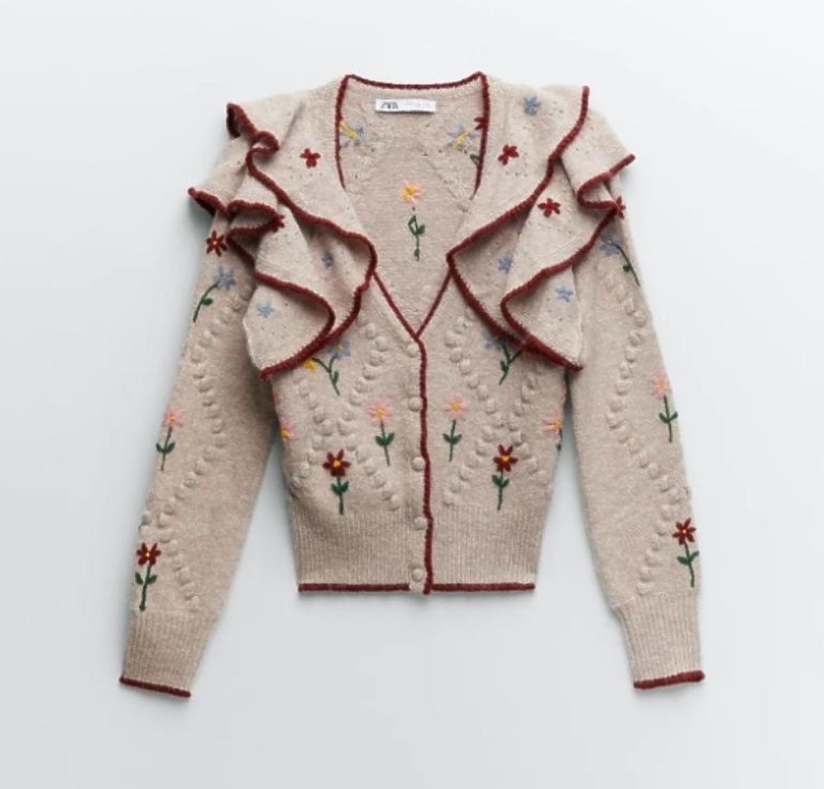 Trendy jesień 2020: Sweter Zara 199 zł