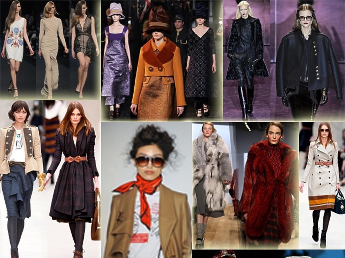 trendy jesień zima  2012/13