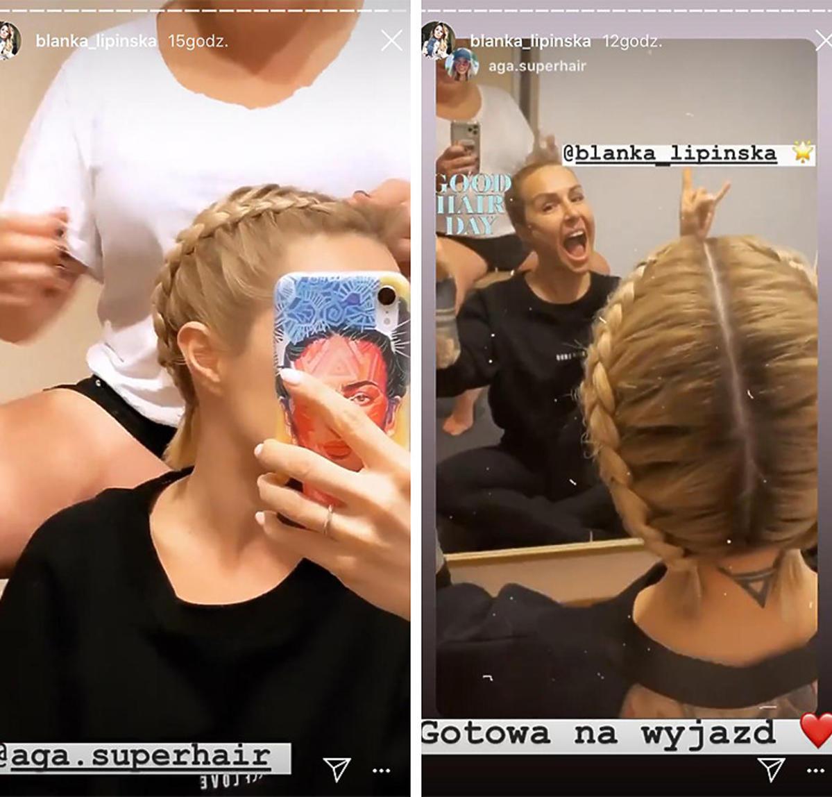 Trendy lato 2020: Blanka Lipińska i warkocze na lato