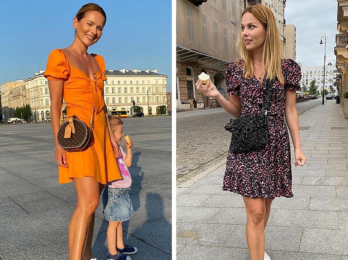 Trendy lato 2020: Paulina Sykut w butach z H&M i sukience Laurella