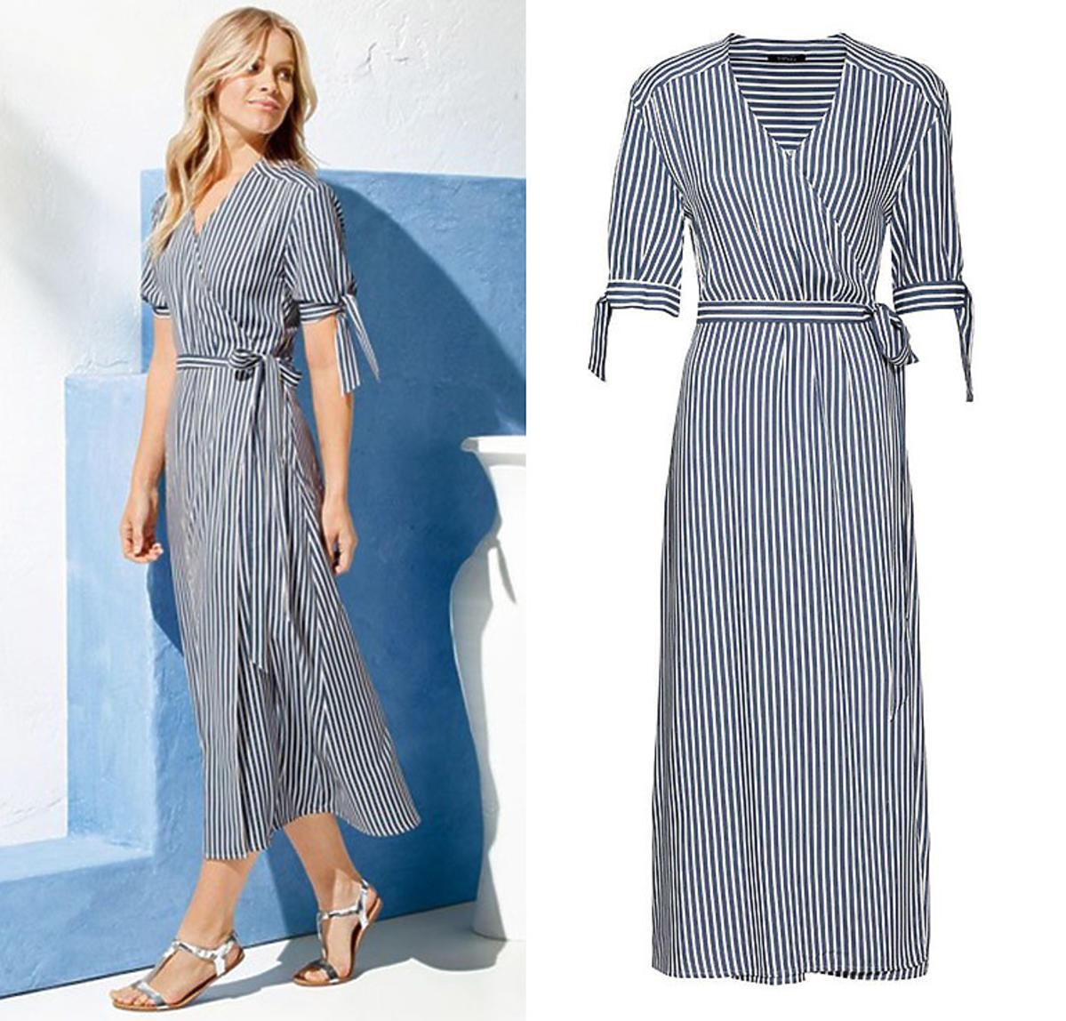 Trendy lato 2020: sukienka w paski z Lidla