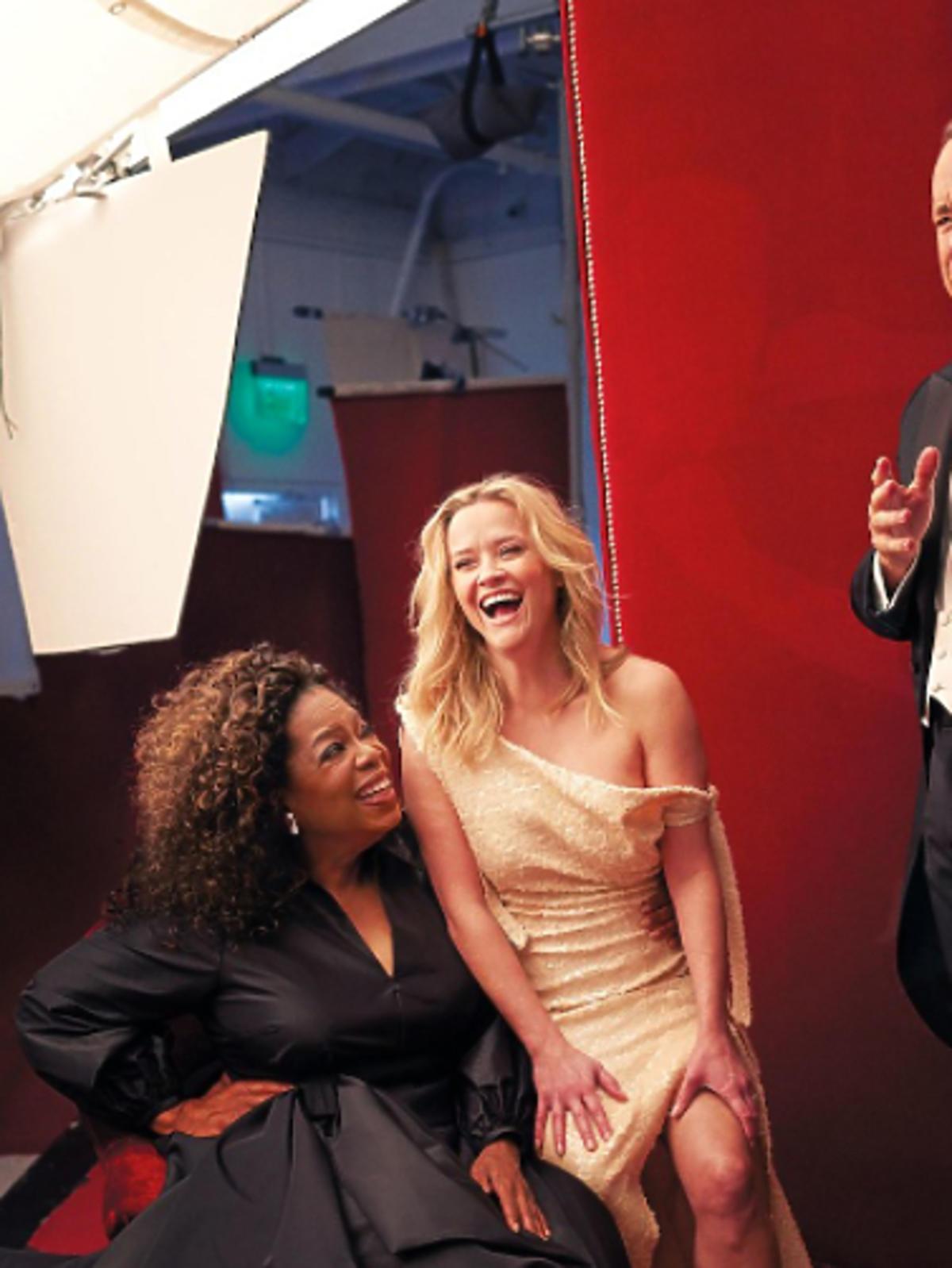 Trzy nogi Reese Witherspoon i 3 ręce Oprah Winfrey