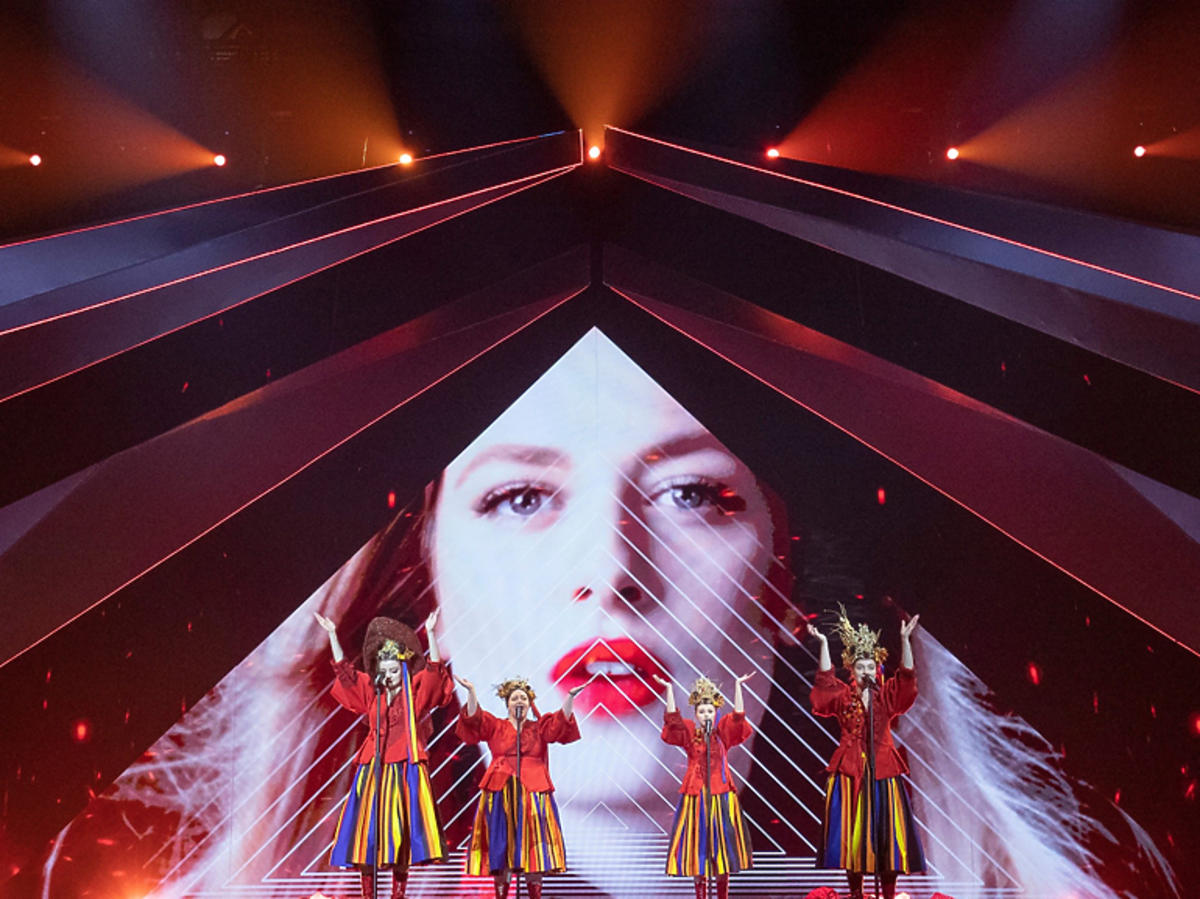 Tulia podczas prób na Eurowizji 2019