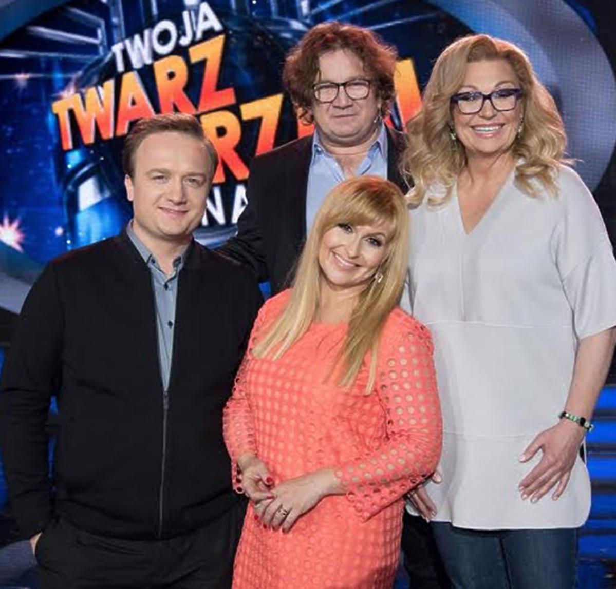 Twoja Twarz Brzmi Znajomo - Bartek Kasprzykowski, Paweł Królikowski, Katarzyna Skrzynecka, Małgorzata Walewska
