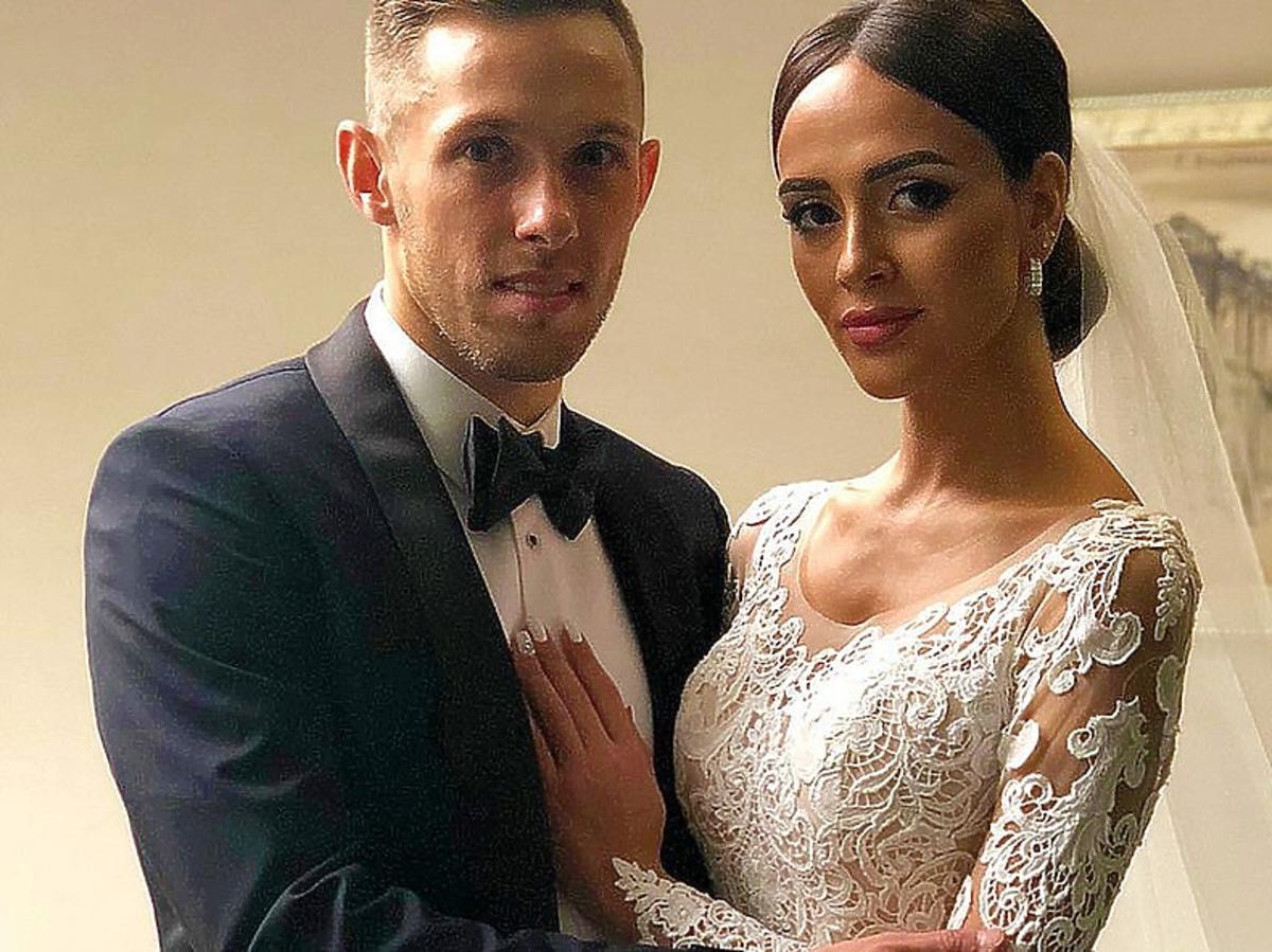 TYLKO U NAS! Kim jest żona gwiazdy reprezentacji Macieja Rybusa? Piłkarz skrywa też pewną tajemnicę...