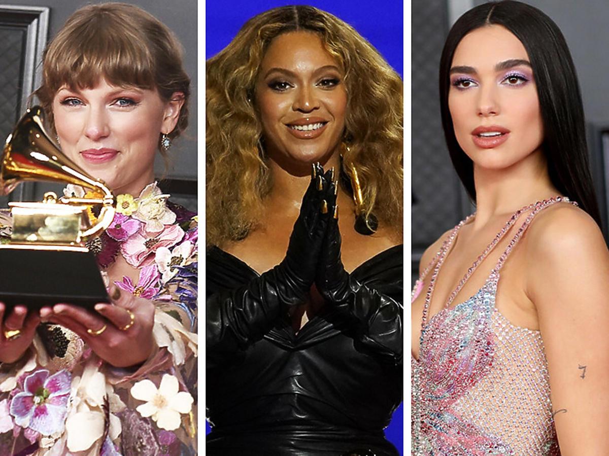 Tylor Swift, Beyonce i Dua Lipa na rozdaniu Grammy 2021