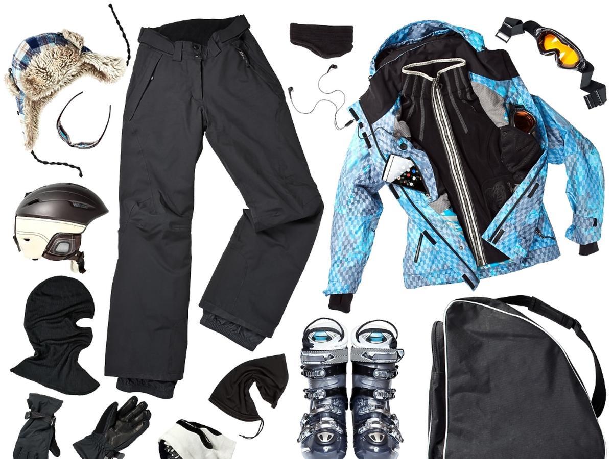ubrania na stok narciarski