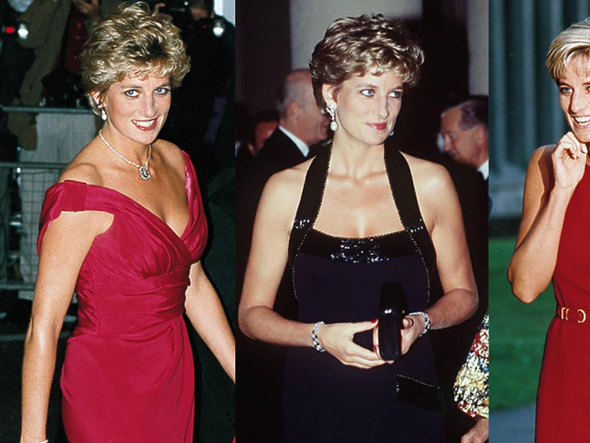 Ubrania w stylu księżnej Diany