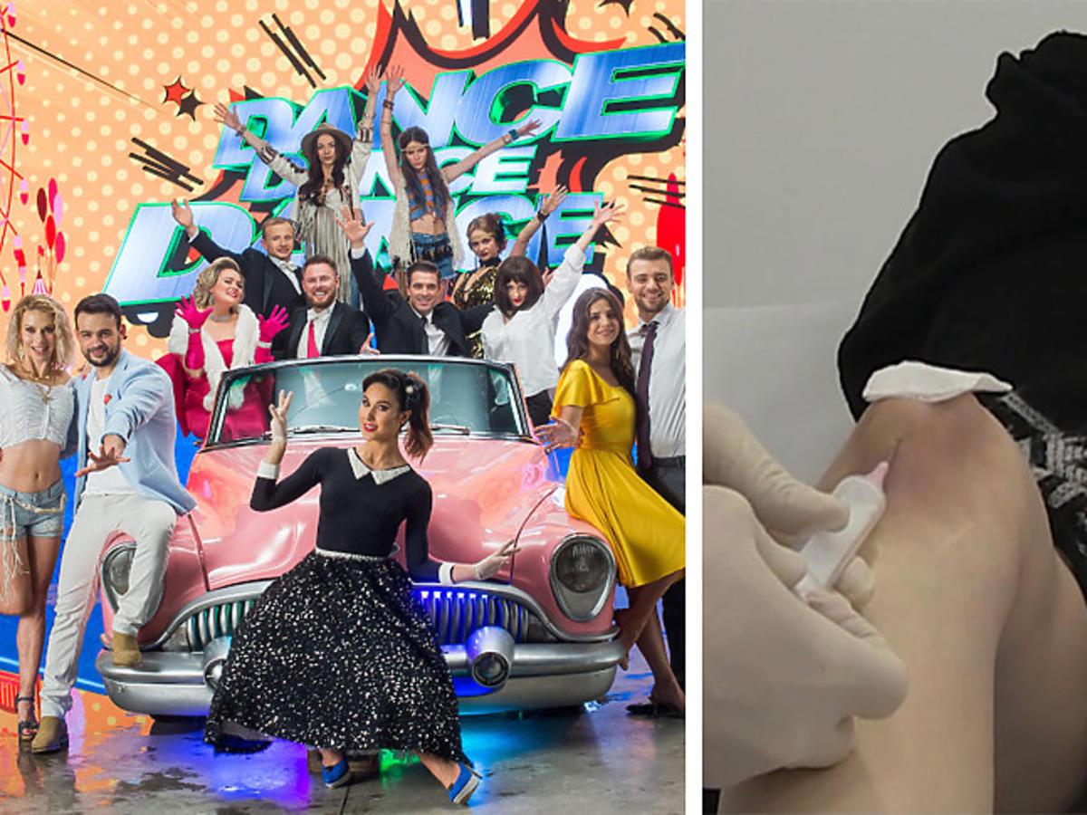 "Uczestnicy na planie ""Dance Dance Dance 3"", Anna Matysiak w szpitalu"