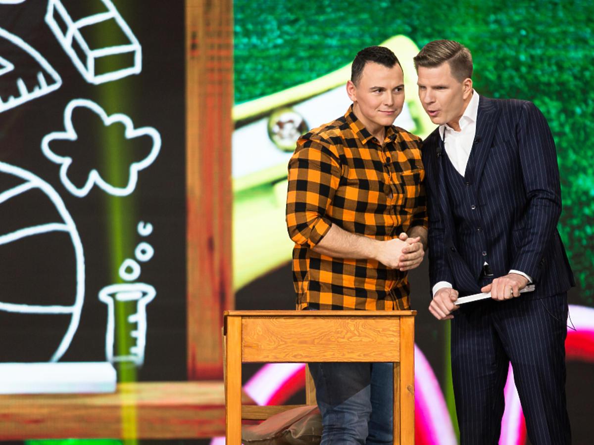 Uczestnicy show Hipnoza w TVN