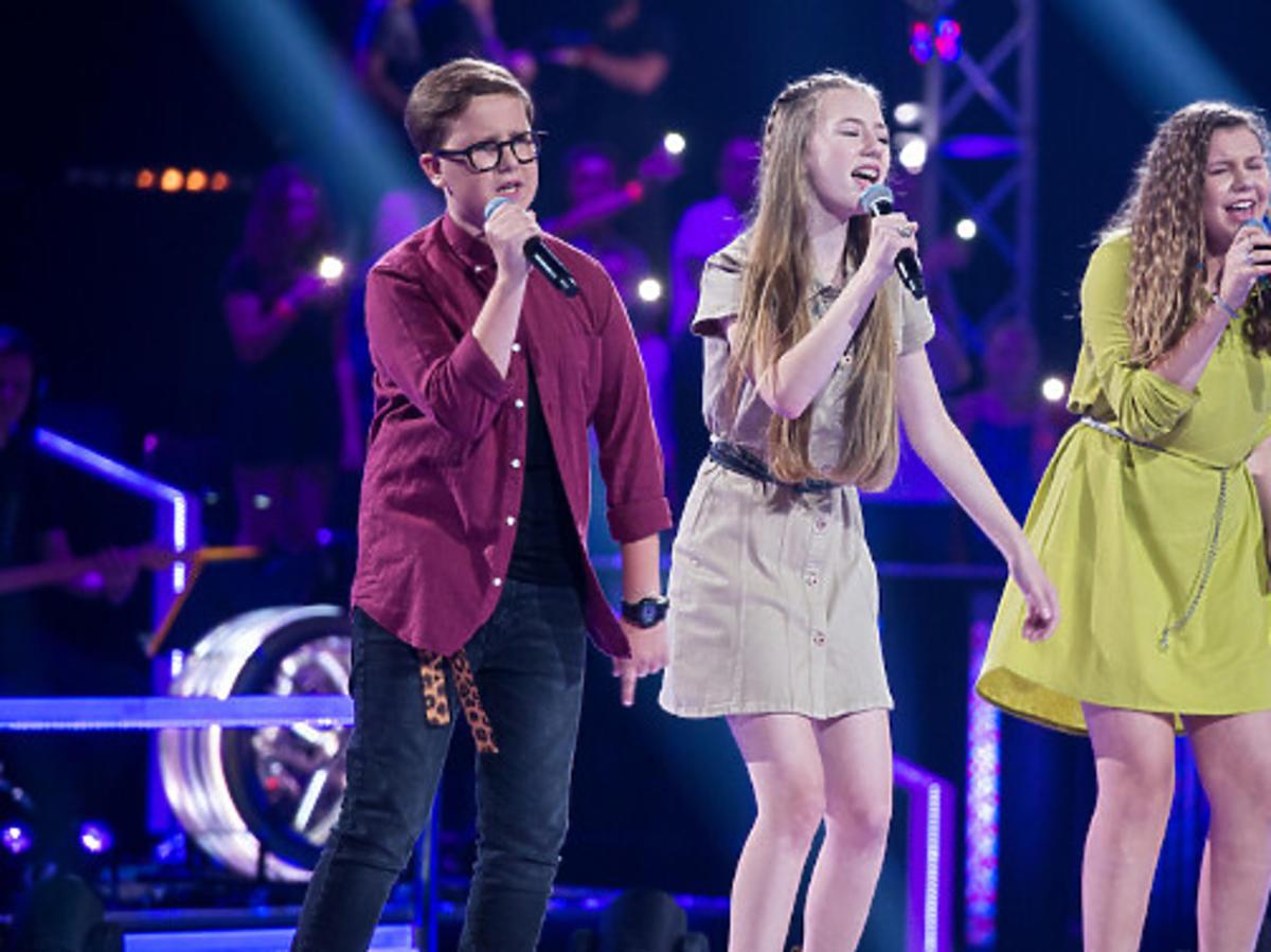 Uczestnicy The Voice Kids na scenie
