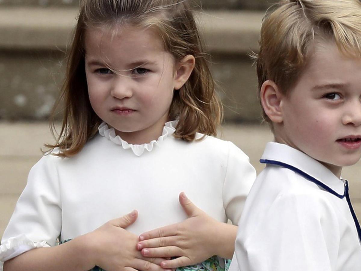 Upadek Księżniczki Charlotte na ślubie