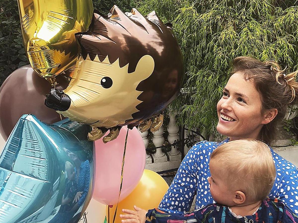 Urodziny córeczki Olgi Frycz