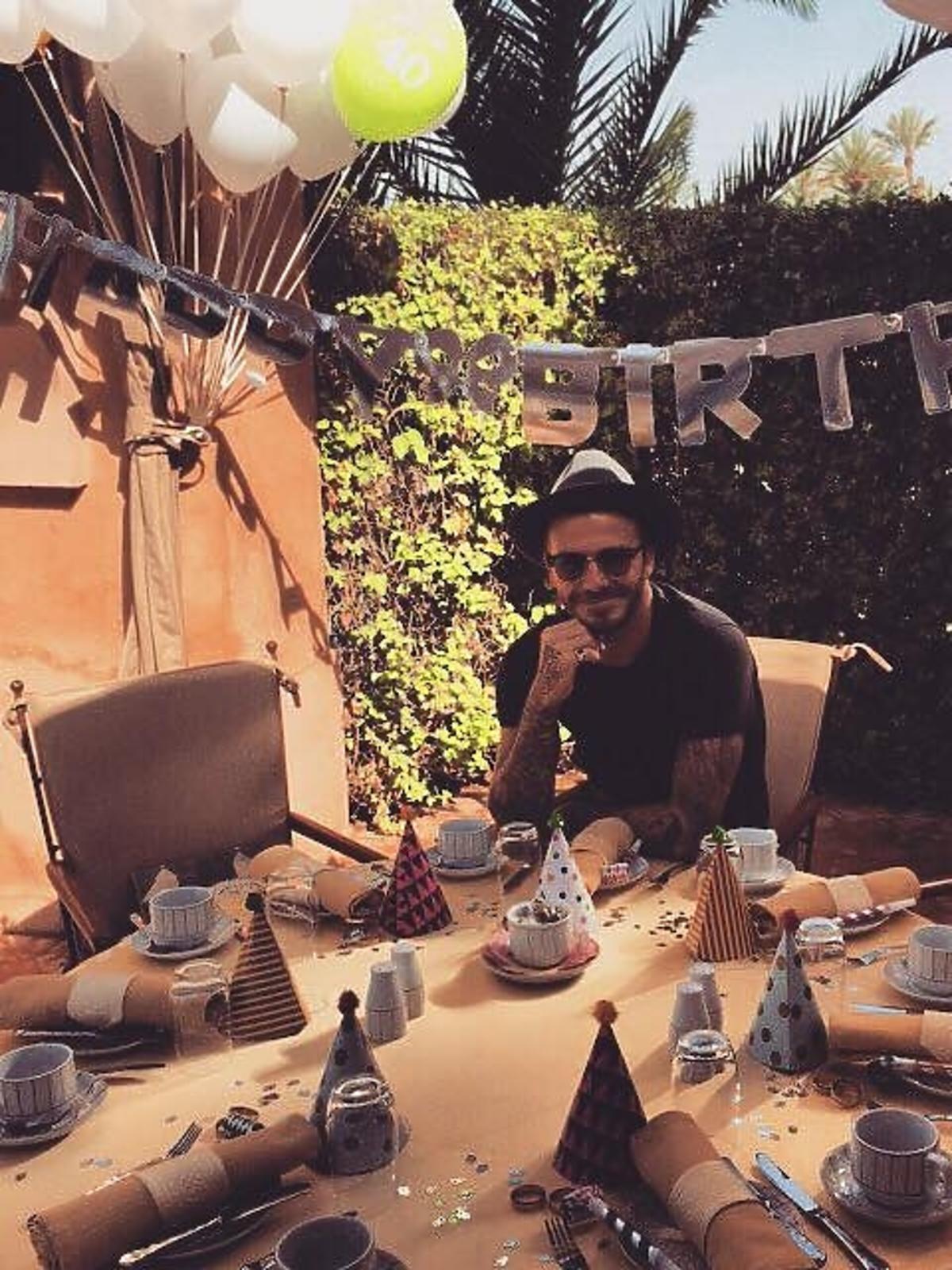 Urodziny Davida Beckhama