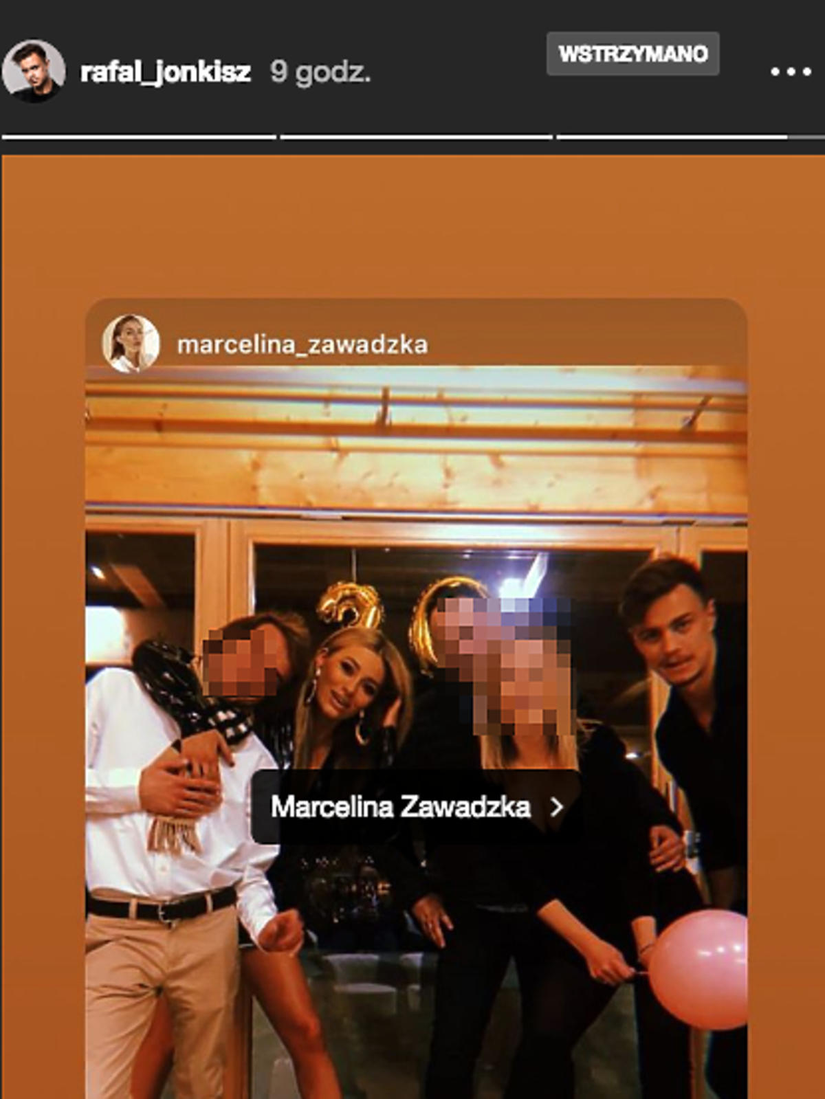 Urodziny Marceliny Zawadzkiej. Pierwsze zdjęcia z Rafałem Jonkiszem