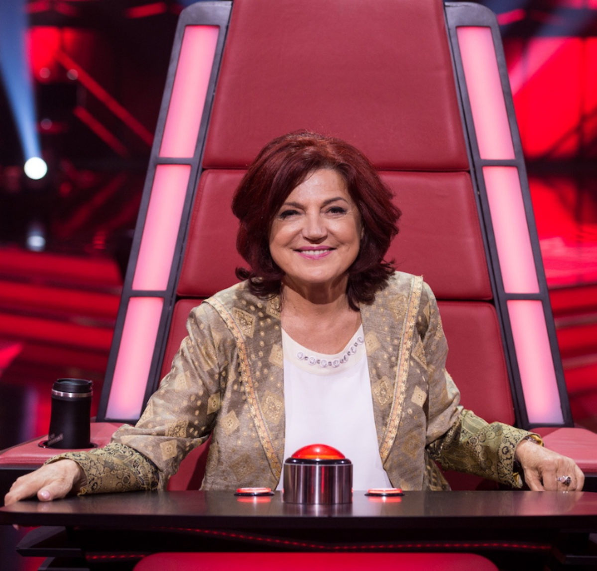 Urszula Dudziak w The Voice of Poland