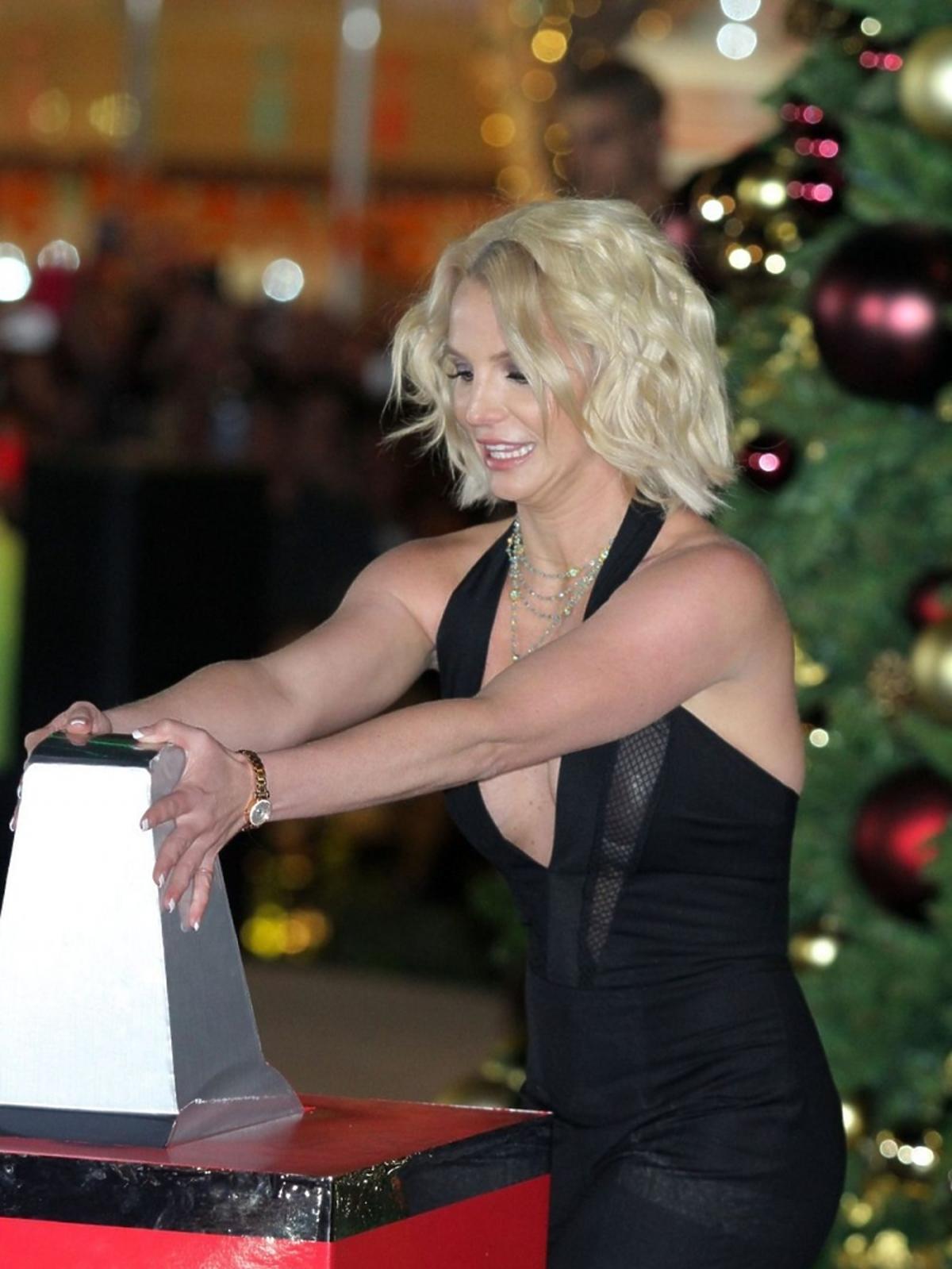 Uśmiechnięta Britney Spears