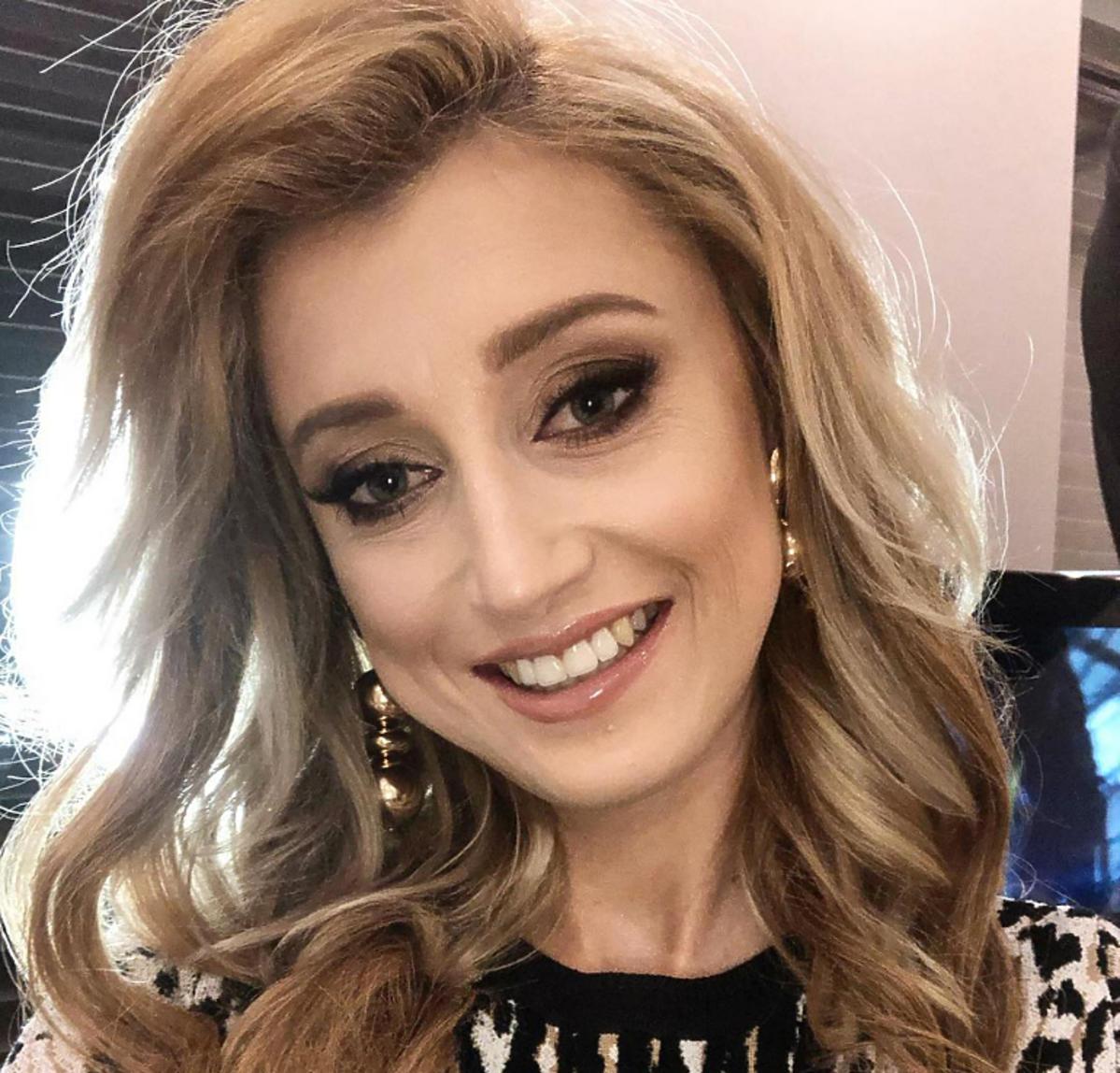 Uśmiechnięta Justyna Żyła