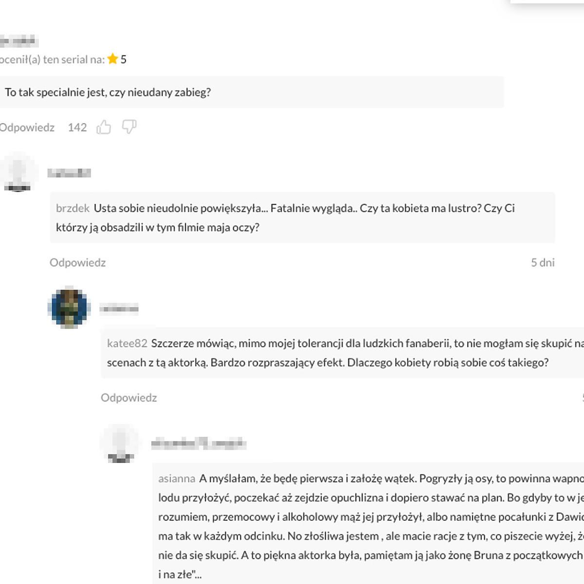Usta Ewy Skibińskiej zaskoczyły fanów serialu