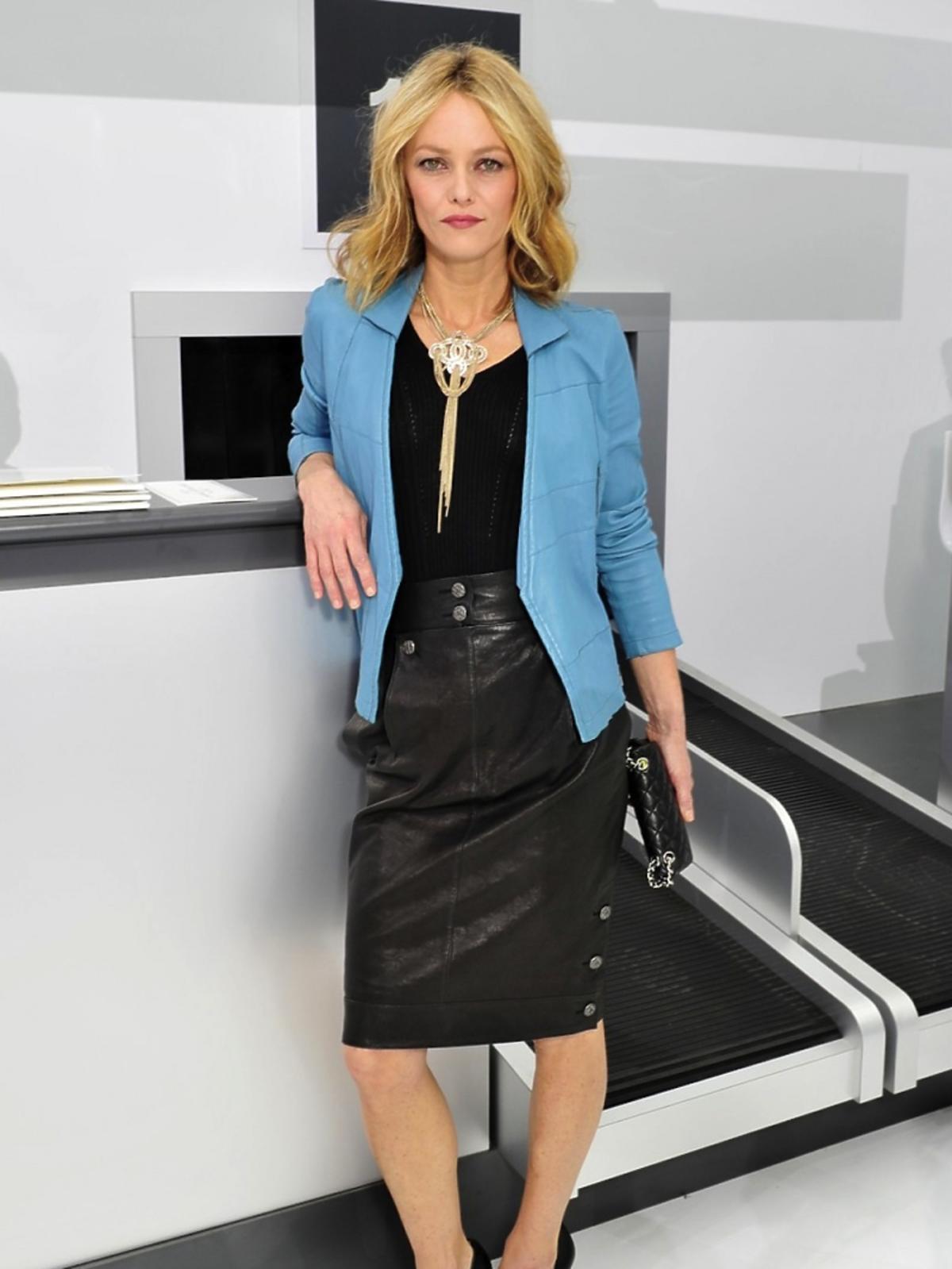 Vanessa Paradis na pokazie Chanel