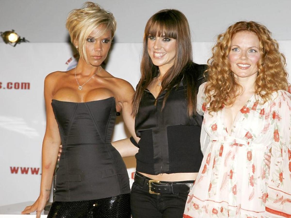 Victoria Beckham, Mel C, Geri Halliwell