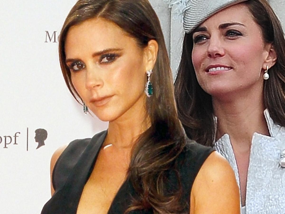 Victoria Beckham podarowała prezent księżnej Kate