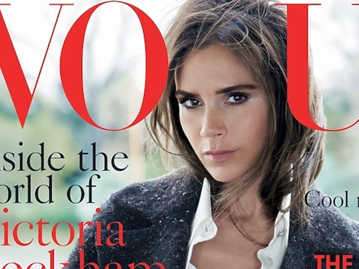 Victoria Beckham Vogue UK sierpień 2014