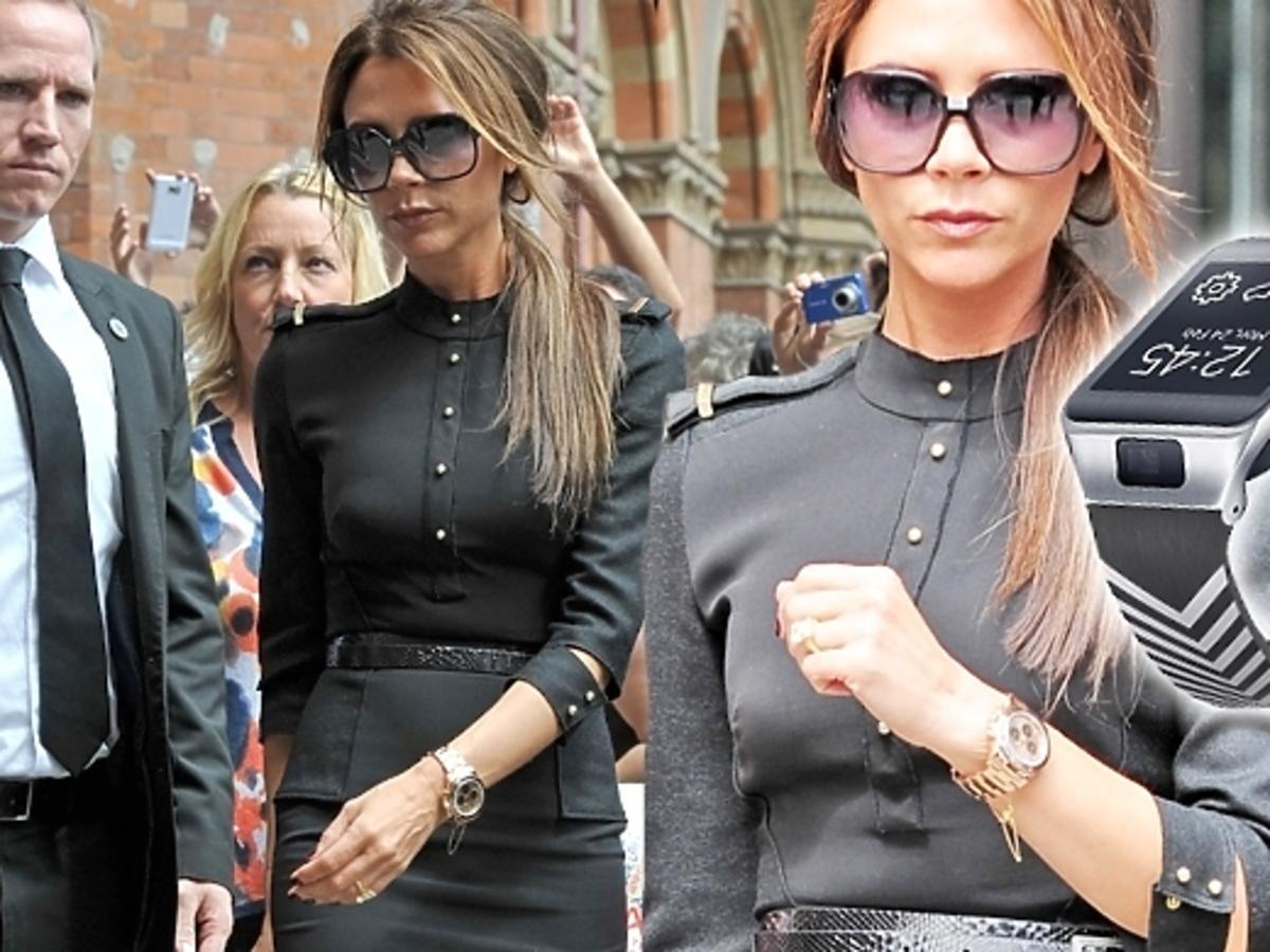Victoria Beckham w modnej stylizacji