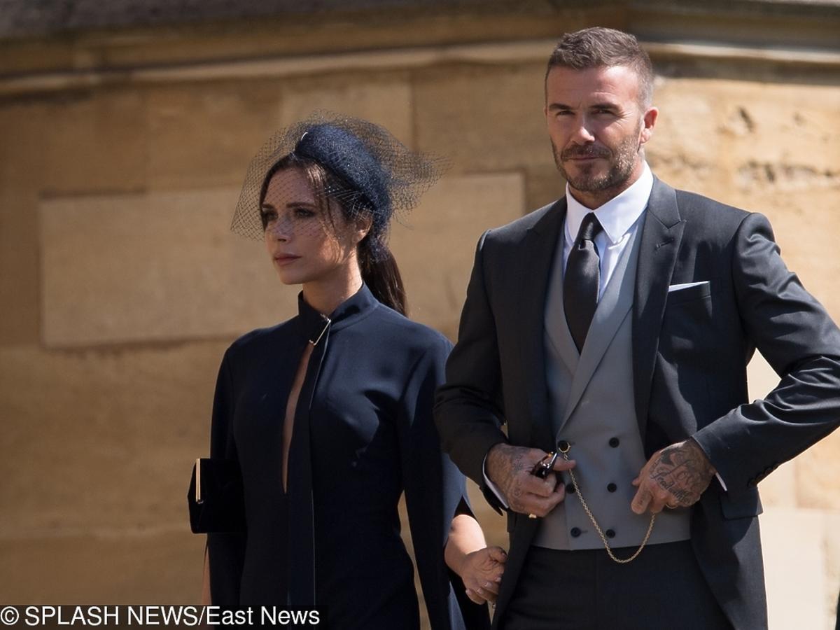 Victoria Beckham zaliczyła wpadkę na książęcym ślubie?