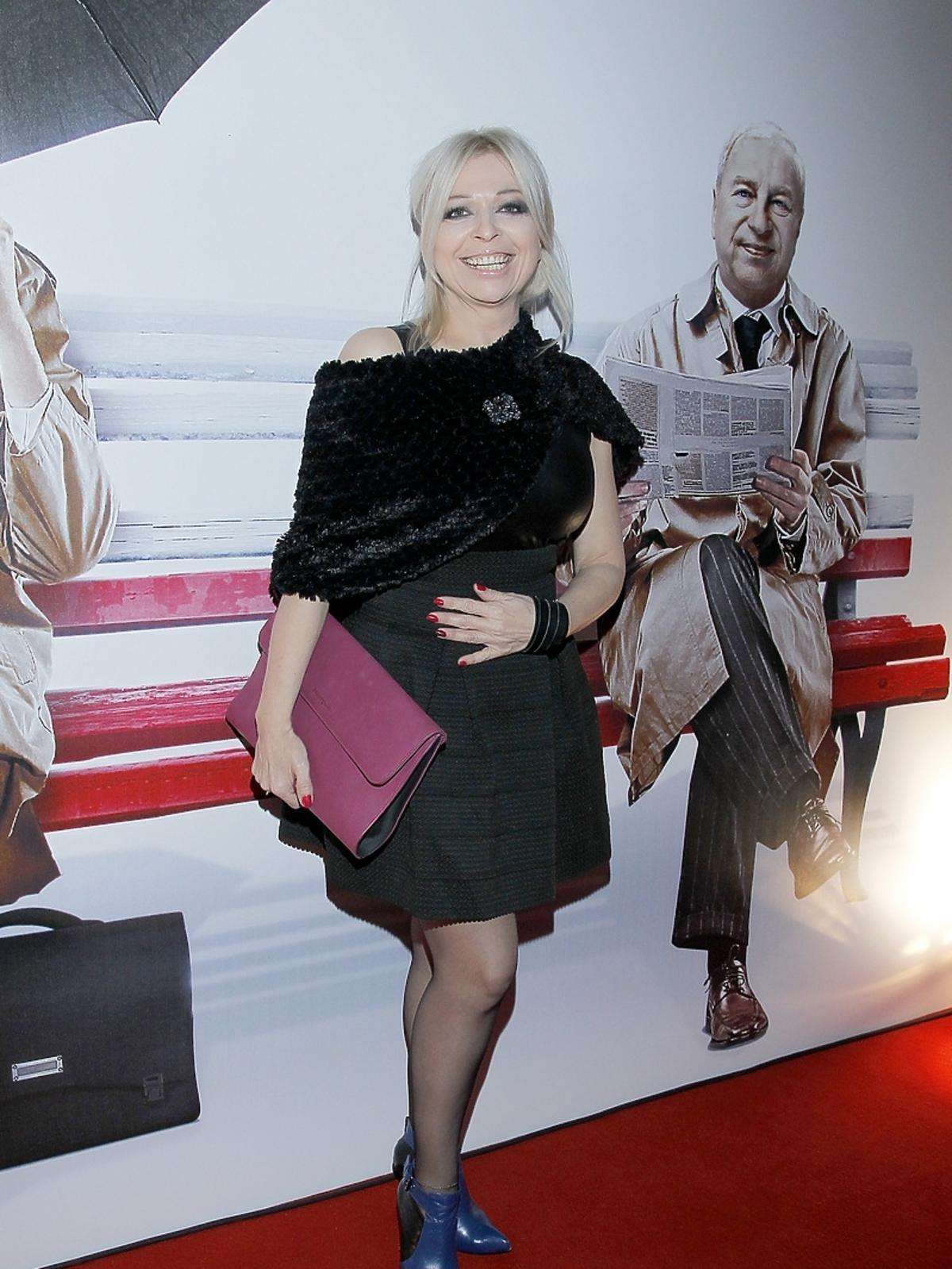 Violetta Arlak na premierze filmu Obywatel