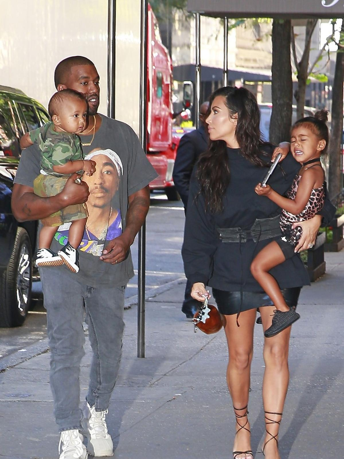 vvKanye West, Saint West, North West