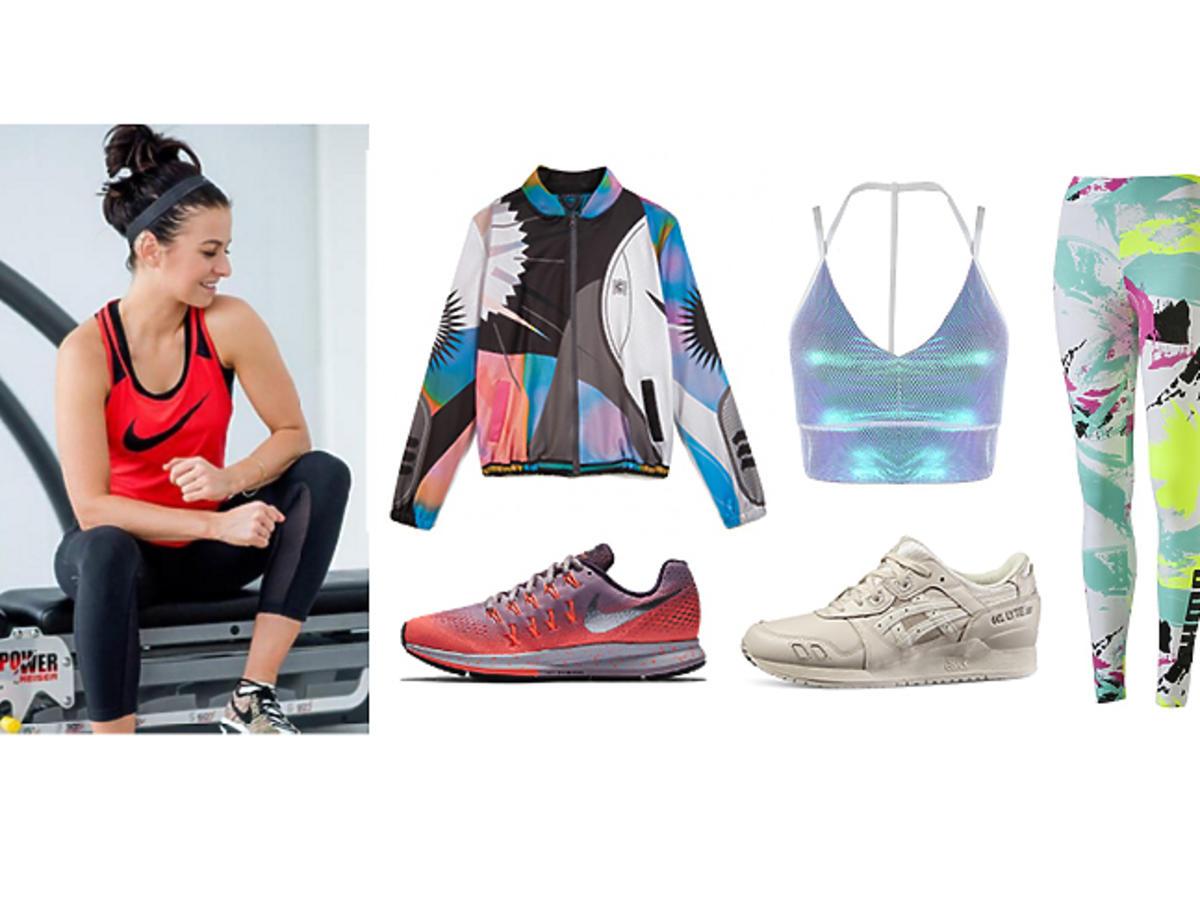 W stylu Anny Lewandowskiej: sportowe ubrania i buty na trening zima wiosna 2017