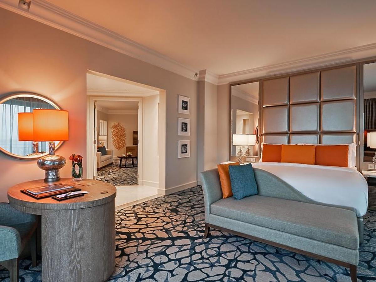 W tym hotelu Julia Wieniawa i Antek Królikowski ratowali związek. Zobacz wnętrza Atlantis The Palm