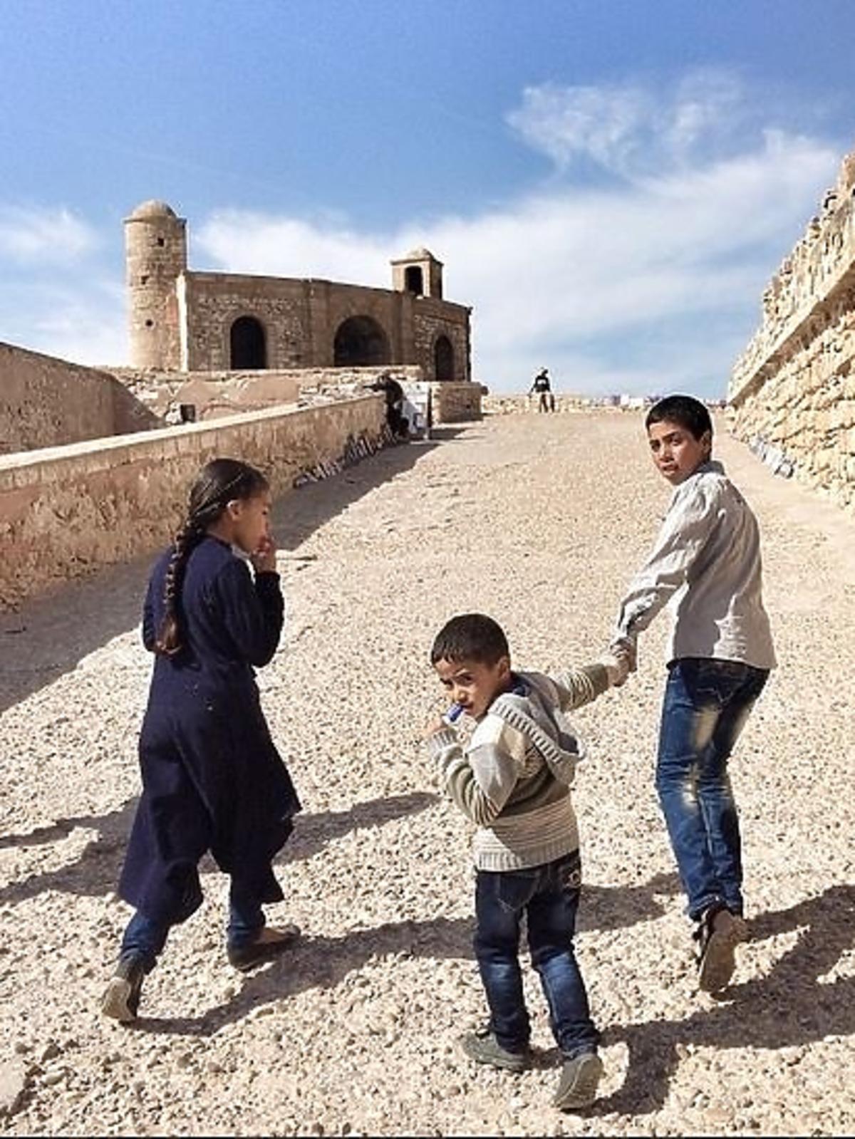 Wakacje Oli Kwaśniewskiej w Maroko
