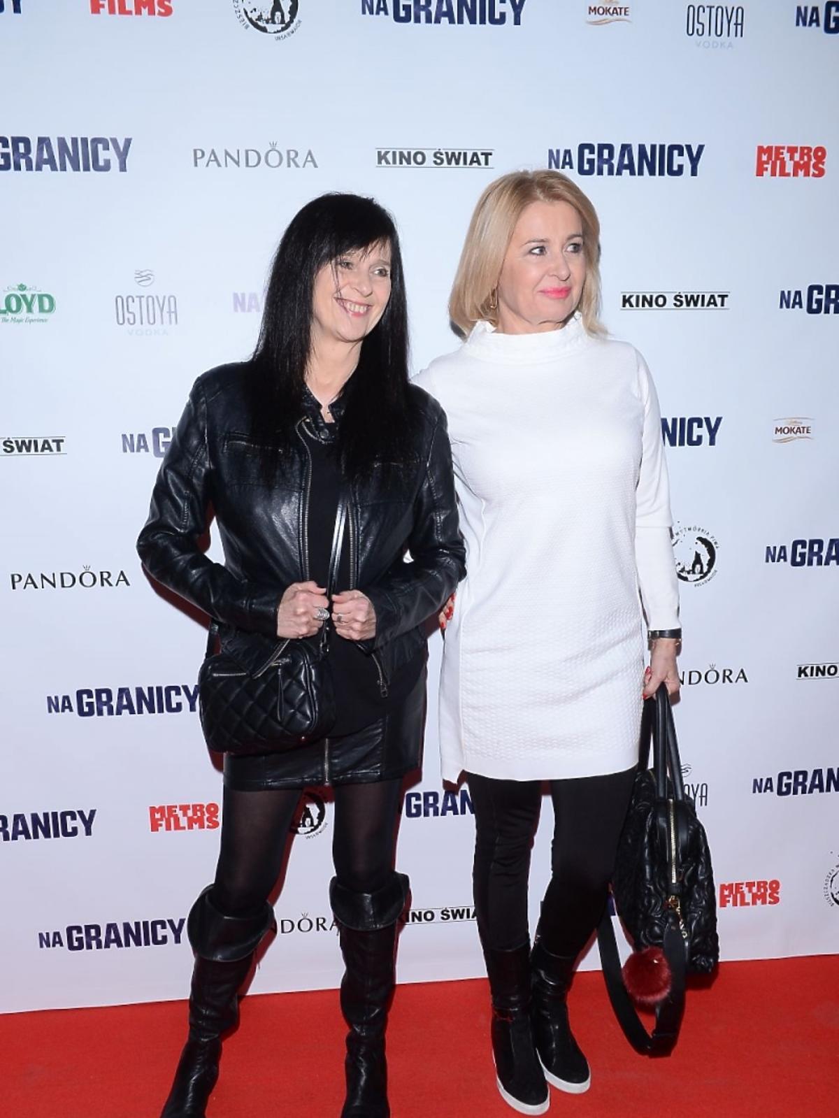 Wanda Kwietniewska i Majka Jeżowska na premierze filmu