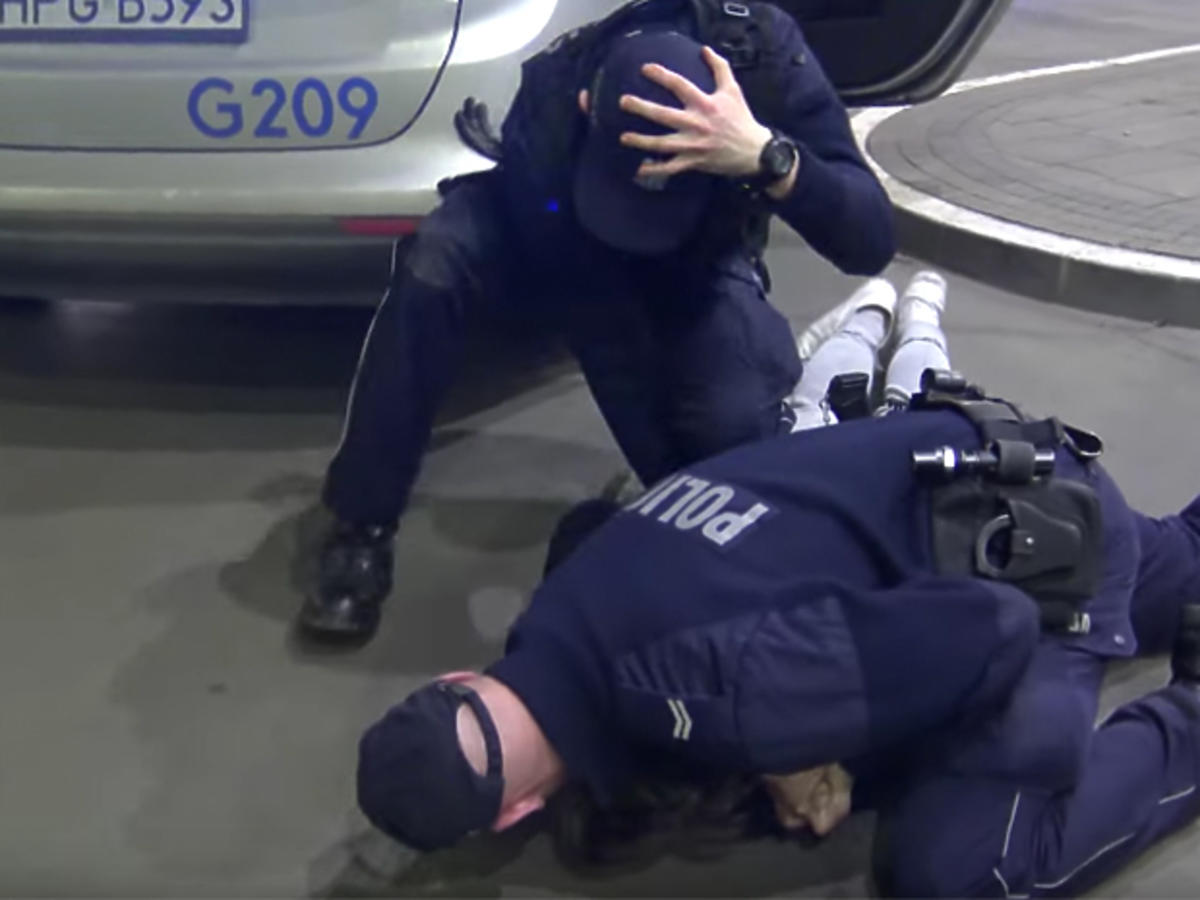 Wardęga zatrzymanie przez policję
