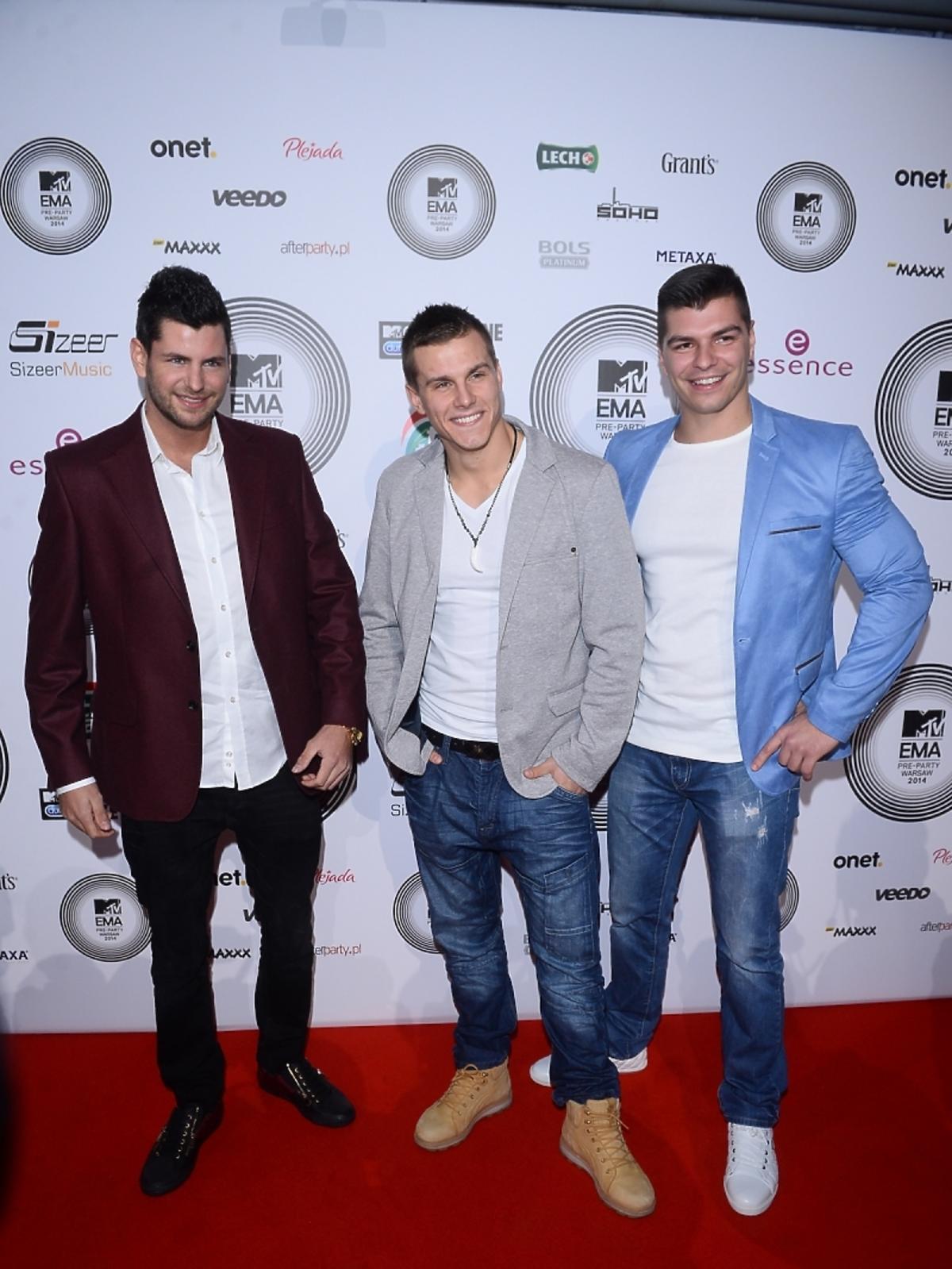 Warsaw Shore na MTV EMA Pre-Party 2014