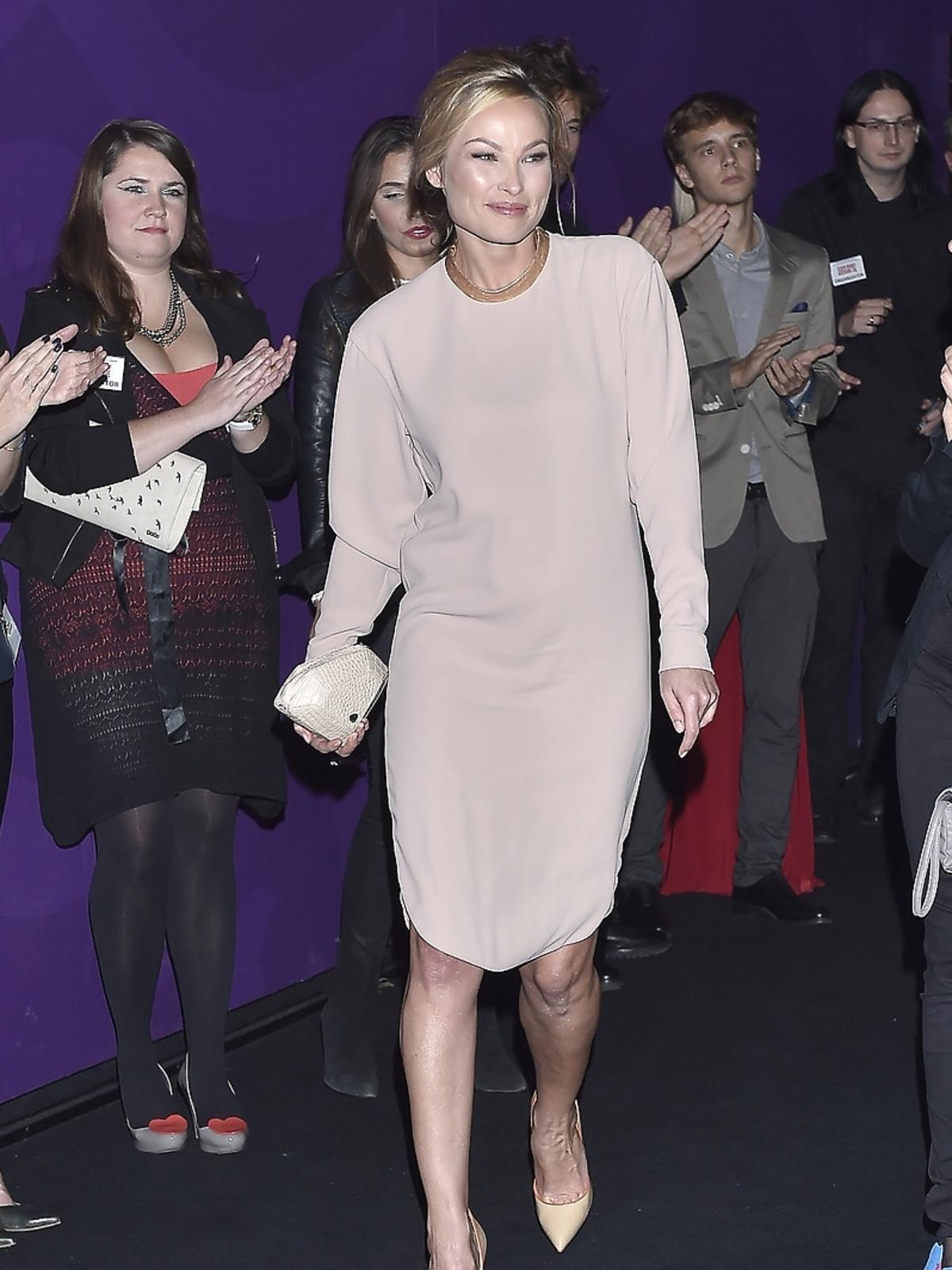 Weronika Książkiewicz na premierze filmu