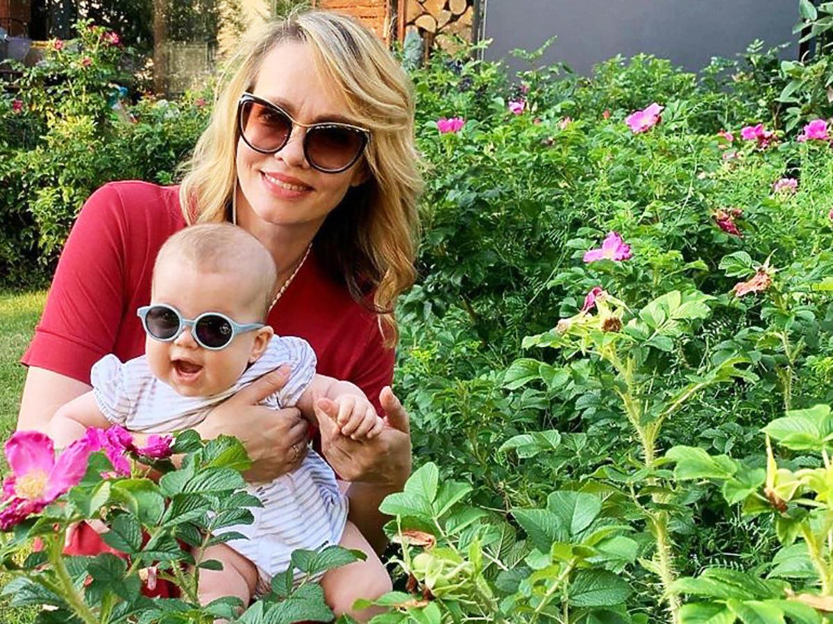 Weronika Marczuk z córką Anią