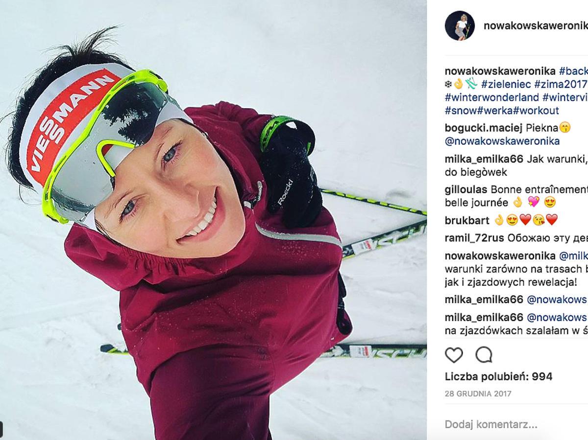 Weronika Nowakowska, reprezentantka Polski w biathlonie na Igrzyskach Olimpijskich w Korei Południowej