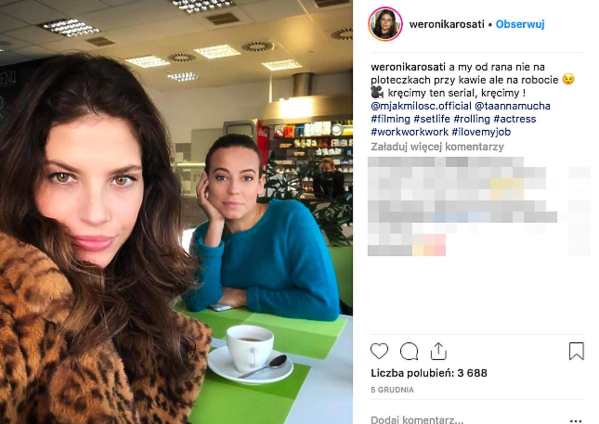 Weronika Rosati, Anna Mucha,
