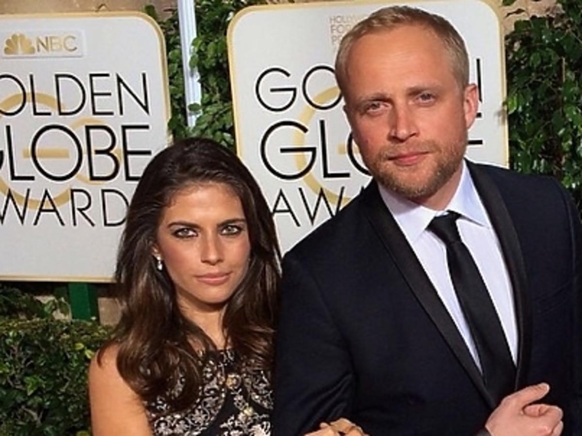 Weronika Rosati i Piotr Adamczyk na Złotych Globach