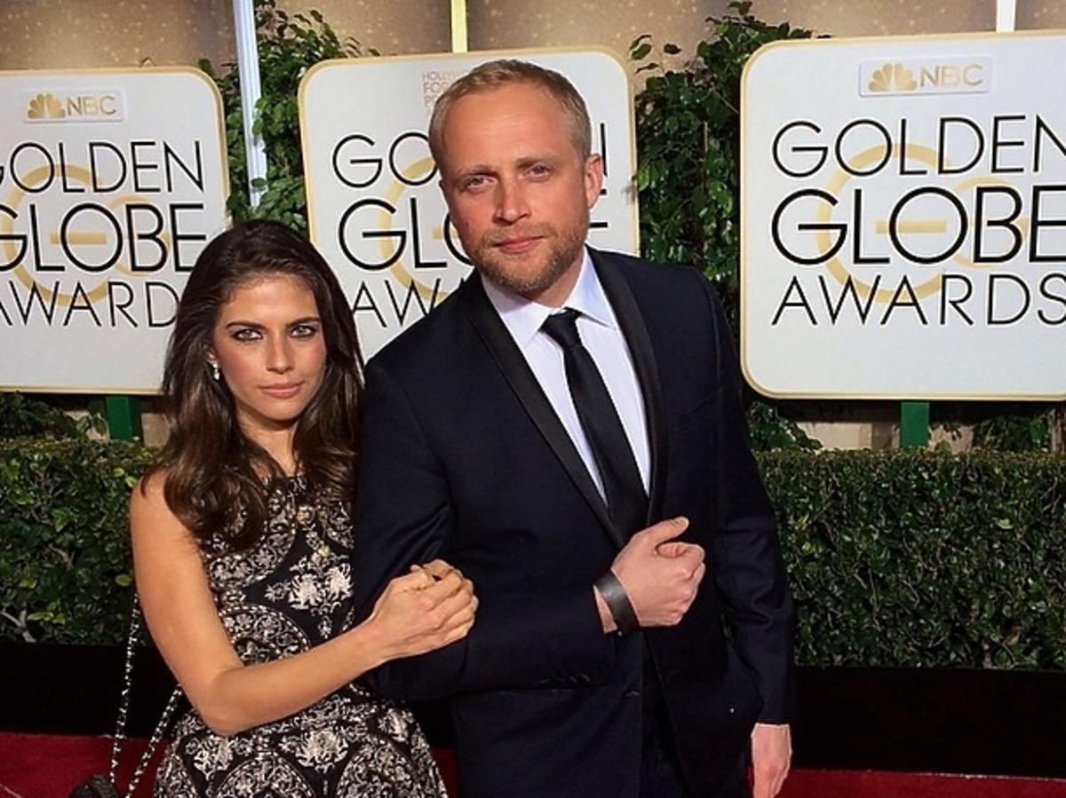 Weronika Rosati i Piotr Adamczyk na Złotych Globach 2015