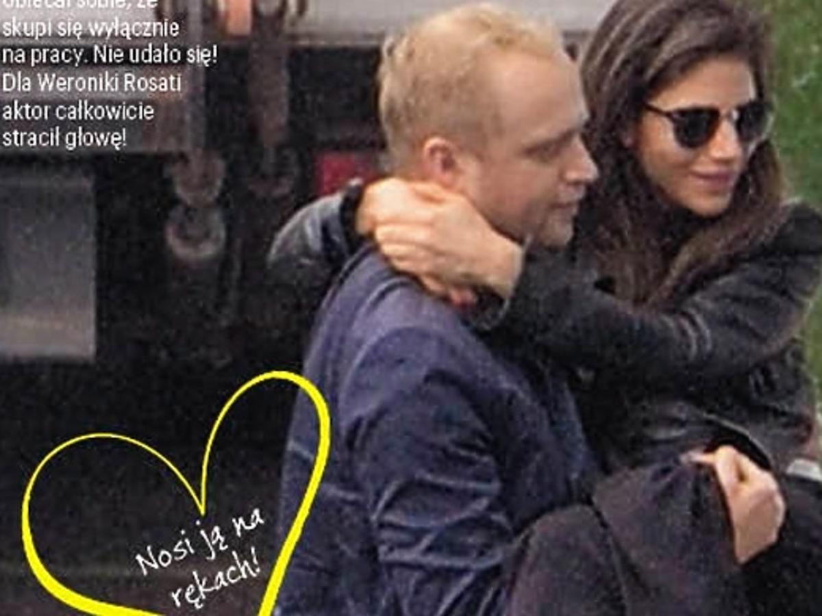 Weronika Rosati i Piotr Adamczyk wracają ze szpitala